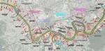 Dio dispozicionog rješenja uređenja korita rijeke Vrbas na području Grada Banja Luka